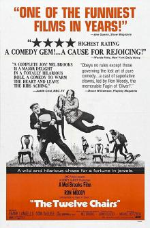 Films, December 19, 2019, 12/19/2019, The Twelve Chairs (1970): Comedy Adapted From A Russian Novel