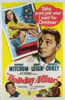 Films, December 23, 2019, 12/23/2019, Holiday Affair (1949): Romantic Comedy Set In Christmas