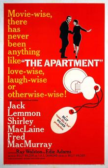 Films, December 31, 2019, 12/31/2019, The Apartment (1960): Five Time Oscar Winning Romantic Comedy