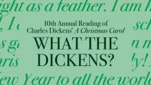 Readings, December 14, 2019, 12/14/2019, What the Dickens?: The 10th Annual Marathon Reading of A Christmas Carol