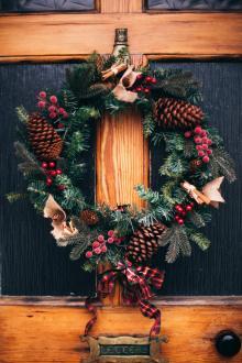 Opening Receptions, December 05, 2019, 12/05/2019, Wreath Interpretations: An Array of Imaginative and Unusual Wreaths