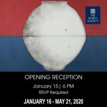 Opening Receptions, January 15, 2020, 01/15/2020, Moon Jar/Longing for Home: Installation and Paintings