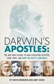 Author Readings, January 30, 2020, 01/30/2020, Darwin's Apostles: The Men Who Fought to Have Evolution Accepted, Their Times, and How the Battle Continues