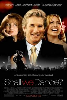 Films, February 15, 2020, 02/15/2020, Shall We Dance (2004): Romantic Comedy WithRichard Gere,Susan Sarandon And Jennifer Lopez