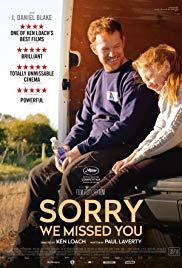 Films, February 27, 2020, 02/27/2020, Sorry We Missed You (2020): Advance Screening of Gig Economy Drama