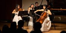 Concerts, February 21, 2020, 02/21/2020, String Works by Saint-Saëns, Beethoven, Debussy