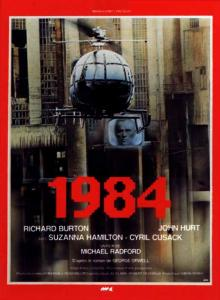 Films, February 03, 2020, 02/03/2020, 1984 (1984) With Richard Burton: Dystopian Sci-Fi Based On George Orwell's Famous Novel