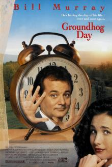 Films, February 07, 2020, 02/07/2020, Groundhog Day (1993) With Bill Murray: Weatherman Living The Same Day