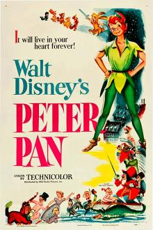 Films, February 14, 2020, 02/14/2020, Walt Disney's Peter Pan (1953): Animation Fantasy Adventure