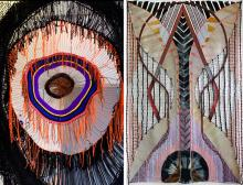Opening Receptions, February 06, 2020, 02/06/2020, Julia Bland & Michelle Segre: Fiber Artists