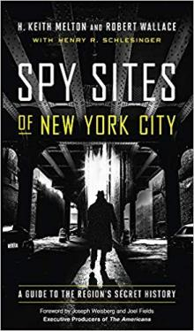 Author Readings, March 04, 2020, 03/04/2020, Spy Sites of New York City: A Guide to the Region's Secret History