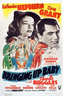 Screenings, March 09, 2020, 03/09/2020, Bringing Up Baby (1938): Screwball Comedy With Katharine Hepburn and Cary Grant