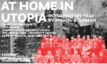 Films, February 27, 2020, 02/27/2020, At Home in Utopia (2008): An Epic Social Experiment