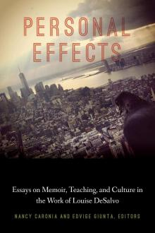 Book Discussions, March 02, 2020, 03/02/2020, Personal Effects: Essays on Memoir, Teaching, and Culture in the Work of Louise DeSalvo