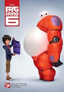 Films, March 13, 2020, 03/13/2020, !!!CANCELLED!!! Big Hero 6 (2014): Oscar Winning Animantion !!!CANCELLED!!!