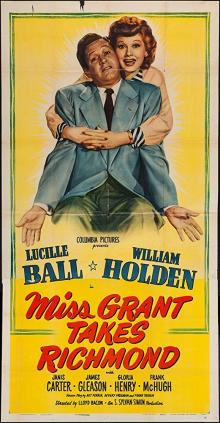 Films, March 16, 2020, 03/16/2020, !!!CANCELLED!!! Miss Grant Takes Richmond (1949): Secretary Causes Some Trouble For The Employer !!!CANCELLED!!!