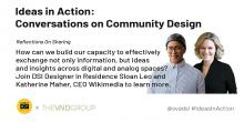 Discussions, March 12, 2020, 03/12/2020, Ideas in Action: Reflections on Sharing