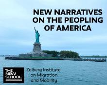 Discussions, March 11, 2020, 03/11/2020, CANCELLED***New Narratives on the Peopling of America***CANCELLED