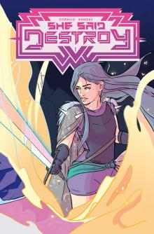 Author Readings, March 26, 2020, 03/26/2020, !!!CANCELLED!!! She Said Destroy: A Comics Collection !!!CANCELLED!!!