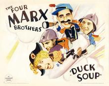 Films, March 27, 2020, 03/27/2020, !!!CANCELLED!!! Duck Soup (1933): Musical Comedy With Marx Brothers !!!CANCELLED!!!