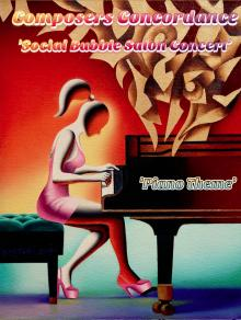 Concerts, August 04, 2020, 08/04/2020, Chamber Salon Concert: Piano Theme