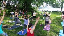 Workshops, August 22, 2020, 08/22/2020, Vinyasa Yoga in a Park (in-person)