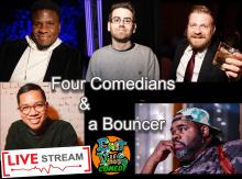 Comedy Clubs, August 31, 2020, 08/31/2020, Virtual Stand-Up Comedy