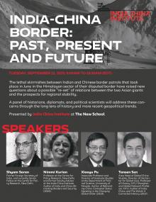 Discussions, September 22, 2020, 09/22/2020, India-China Border: Past, Present and Future