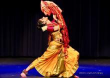 """Dance Performances, September 26, 2020, 09/26/2020, Indian Dance Festival: """"a tour de force"""" dancer"""