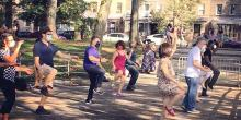 Dance Lessons, October 18, 2020, 10/18/2020, Swing Dance Class in a Park (in-person)