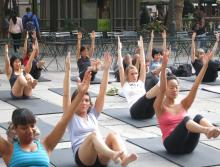Workshops, October 10, 2020, 10/10/2020, Pilates Day in a Park (in-person)