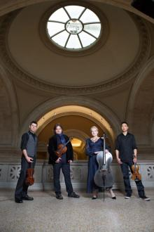 Concerts, October 23, 2020, 10/23/2020, String Quartet and Guests: Cutting-Edge Repertoire (virtual)