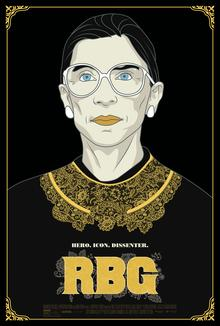 Films, October 12, 2020, 10/12/2020, RBG (2018): Documentary on Life and Legacy of Ruth Bader Ginsburg (virtual)