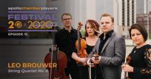 Concerts, October 15, 2020, 10/15/2020, String Quartet and Ballet Dancers (live streamed, virtual)