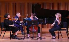 Concerts, October 26, 2020, 10/26/2020, Copland's Piano Quartet: Rare Performance of the Stunning Work (virtual)