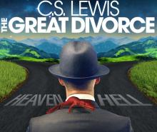 "Plays, November 15, 2020, 11/15/2020, C.S. Lewis' The Great Divorce: ""fiercely funny"" (virtual)"
