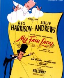 Workshops, January 11, 2021, 01/11/2021, Broadway History: Guys and Dolls and My Fair Lady (virtual) SOLD OUT