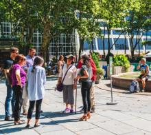 Tours, March 17, 2021, 03/17/2021, Walking Tour at Major Midtown Square (in-person)