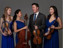 Concerts, January 08, 2021, 01/08/2021, String Quartet Performs Beethoven, Ravel, Schubert, Haydn, Bartok and More (virtual)
