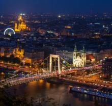 Tours, January 13, 2021, 01/13/2021, Budapest: The Heart of the City and The Elisabeth Bridge Live (virtual)