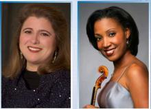 Concerts, January 14, 2021, 01/14/2021, J.S. Bach, Shostakovich, R. Strauss, and More: Soprano and Violin (virtual)