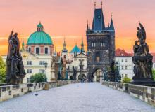 Tours, April 09, 2021, 04/09/2021, The Prague Royal Way: Across Charles Bridge (virtual)