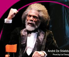 Staged Readings, February 26, 2021, 02/26/2021, Tony, Grammy and Emmy winner Andre De Shields in Frederick Douglass: Mine Eyes Have Seen the Glory (virtual)