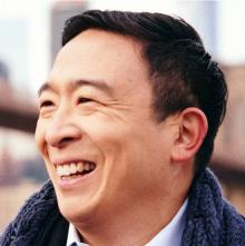 Discussions, March 08, 2021, 03/08/2021, Race to City Hall:Andrew Yang, Mayoral Candidate (virtual)