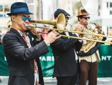 Concerts, February 16, 2021, 02/16/2021, Brass Band Parade: Family Friendly Mardi Gras Celebration (in-person, outdoors)