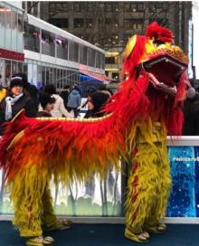 Festivals, February 17, 2021, 02/17/2021, Lion Dance, The Wishing Tree, Crafts: Lunar New Year Celebration (in-person, outdoors)