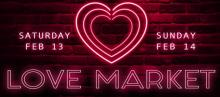 Fairs, February 13, 2021, 02/13/2021, Love Market: Artisan Items and More (in-person)