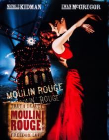 Films, February 27, 2021, 02/27/2021, Moulin Rouge (2001): Romantic Drama with Nicole Kidman (virtual, streaming for 24 hours)