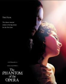 Films, March 12, 2021, 03/12/2021, The Phantom of the Opera (2004): Classic Musical (virtual, streaming for 24 hours)