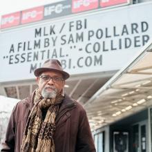 Discussions, February 25, 2021, 02/25/2021, Oscar-Nominated Filmmaker Sam Pollard (MLK/FBI) in Conversation (virtual)